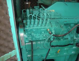 Máy phát điện Cummins đã qua sử dụng 175 kva