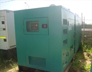 Máy phát điện Mitsubishi đã qua sử dụng 450 kva