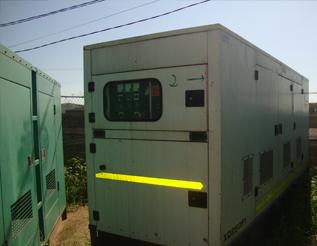 Máy phát điện FG Wilson đã qua sử dụng 250 kva