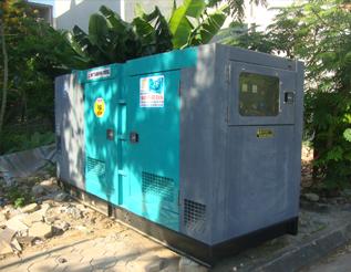 Máy phát điện Mitsubishi đã qua sử dụng 200kva