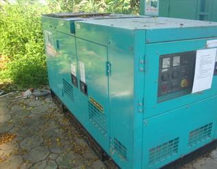 Máy phát điện Denyo - Isuzu đã qua sử dụng 30 kva