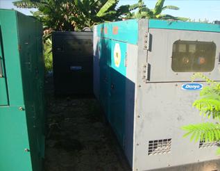 Máy phát điện Mitshubishi đã qua sử dụng 80 kva