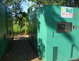 Máy phát điện Johndeere đã qua sử dụng 313 kva