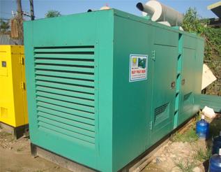 Máy phát điện Mitsubishi đã qua sử dụng 550 kVA
