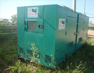 Máy phát điện Mitsubishi đã qua sử dụng 400 kva
